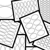 Oval Label Templates