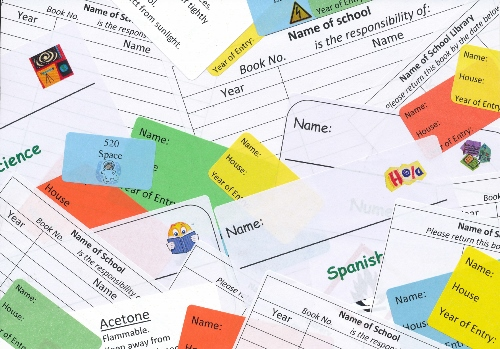 School Labels For Administration