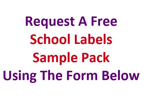 School Labels Sample Pack