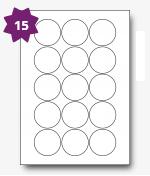 LP15/51R label size