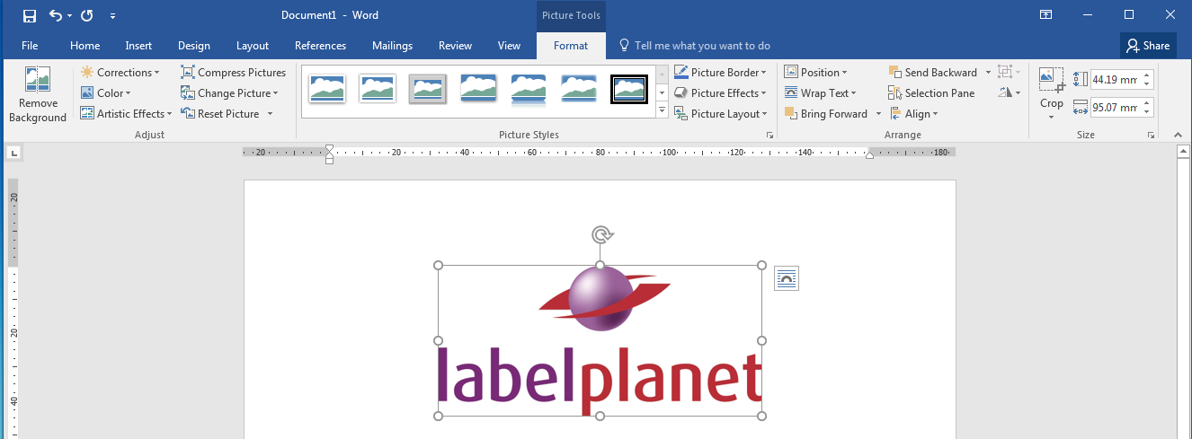 Designing A Label Template – Getting Inventive With Image-Only Templates