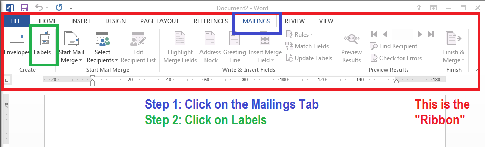 How to open a built in template in Word