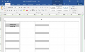 Selecting multiple table cells in Word