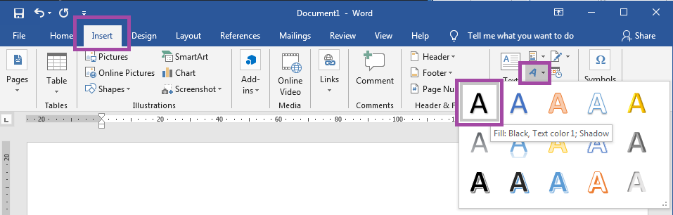 How To Create A Label Design In Word Using Text Boxes