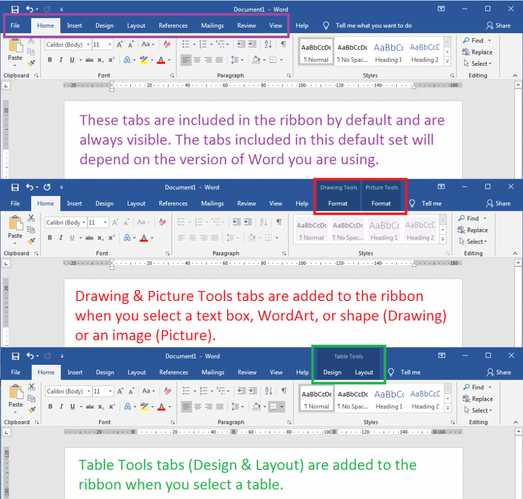 A Guide To Finding Design Tools In Microsoft Word