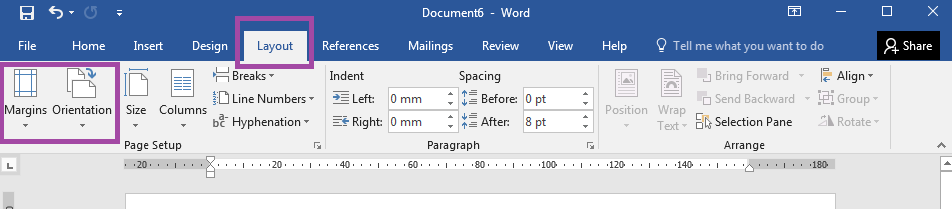 label templates word table tools page margins orientation