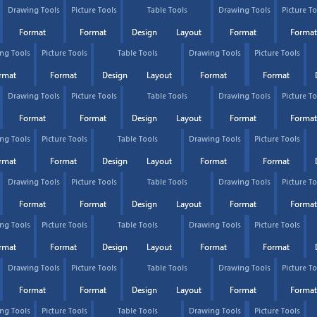 Design Tools In Microsoft Word