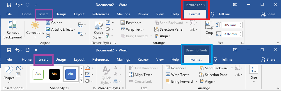 How To Create A Label Design In Word Using Images